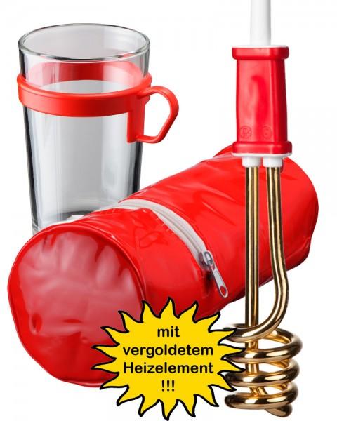 "Reise-Tauchsieder-Set ""RTG 307 GOLD"""