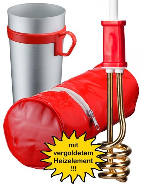 "Reise-Tauchsieder-Set ""RTG 306 GOLD"""